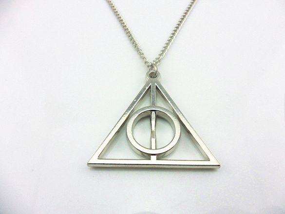 Колие Хари Потър Harry Potter Triangle Даровете на смъртта