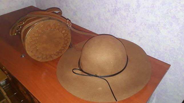 Продам шляпу новый,сумка в подарок