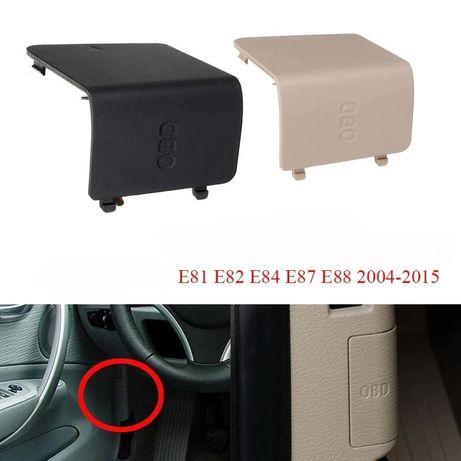 BMW E81 E82 E84 E87 E88 OBD капаче панел бутон букса копче обд бмв