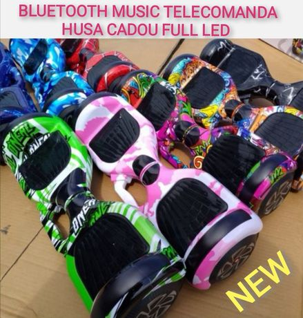 Hoverboard Nou circle roz Wheel