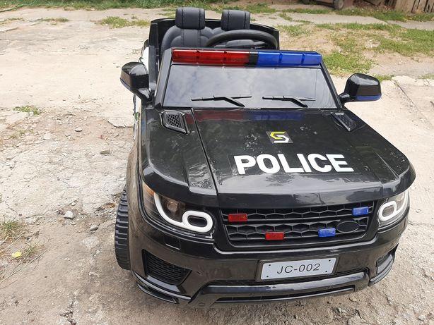Masinuta electrica cu telecomanda Politie