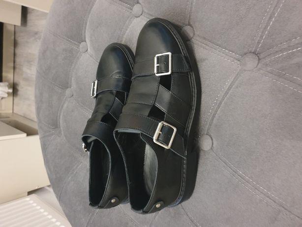 Pantofi de vară/sandale barbat piele Zara