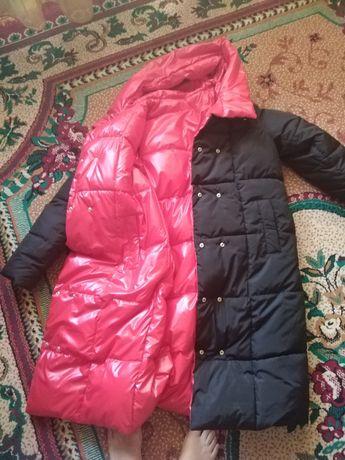Зимняя куртка двухсторонная