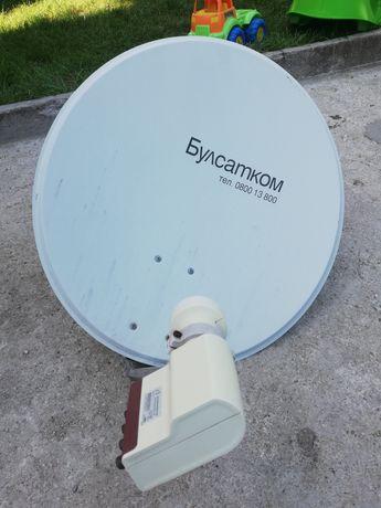 Предлагам чисто нова сателитна чения с око. Тази вече е монтирана.