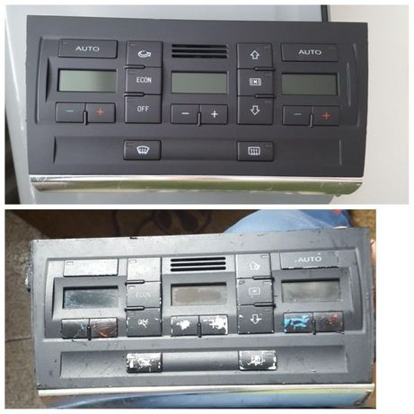 Възстановявам захабени копчета на Audi, Volkswagen и др.