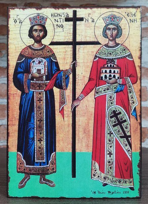 Икона на Св. Св. Константин и Елена icona Sv. Sv. Konstantin i Elena