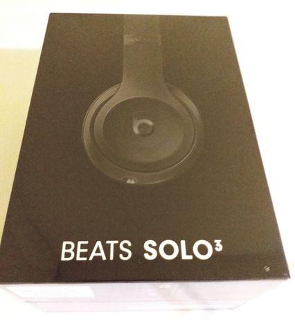 NOU! SIGILAT!!Casti Stereo BEATS Solo 3 by Dr. Dre, Wireless  (Negru)