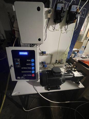 Оборудване за Автомивка на самообдлужване помпа табло дозираща помпа