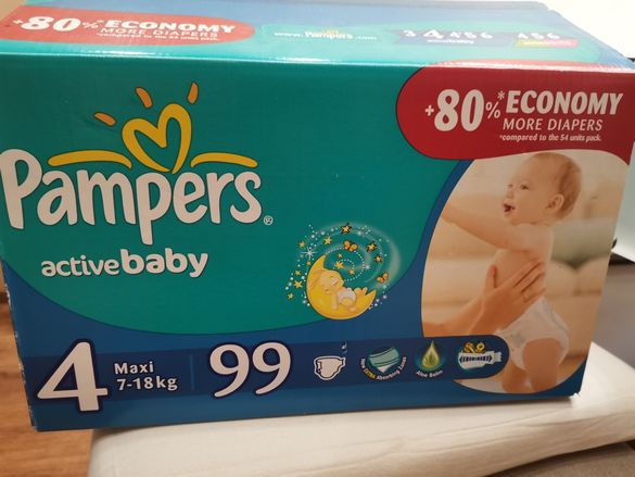 Pampers Active baby 4 /7-18kg
