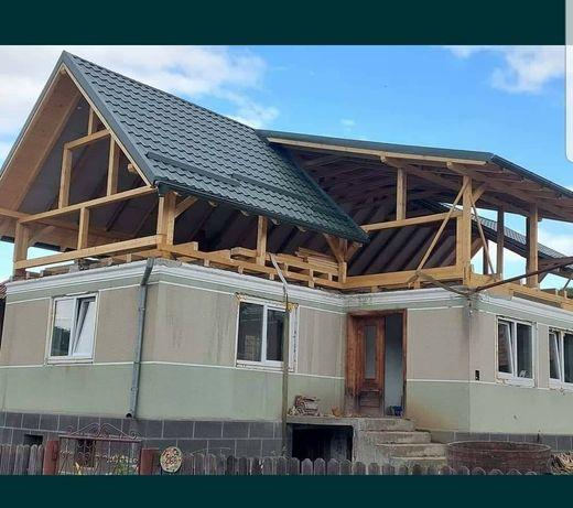 Executăm acoperișuri și reparati urgente