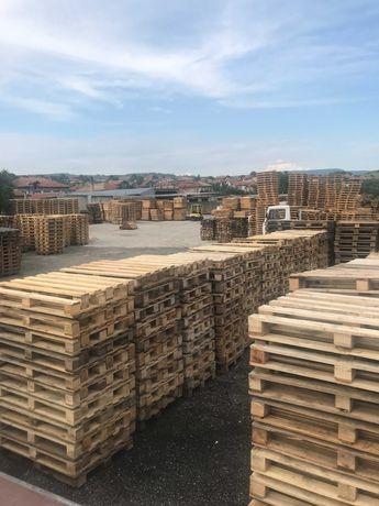 Дървени евро палети и скари