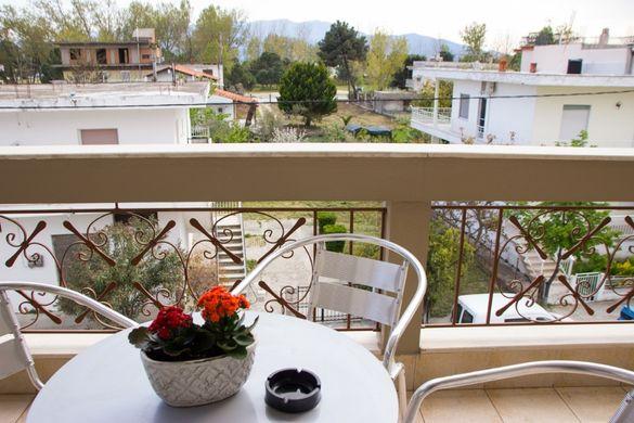 Апартамент Калипсо,1спалня, 4 човека,100 м от плажа, Керамоти, Гърция