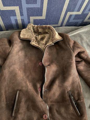 Продам мужскую дубленку, костюм, и кожанный плащ