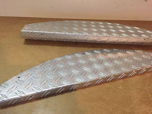 Protecție trepte din aluminiu dur