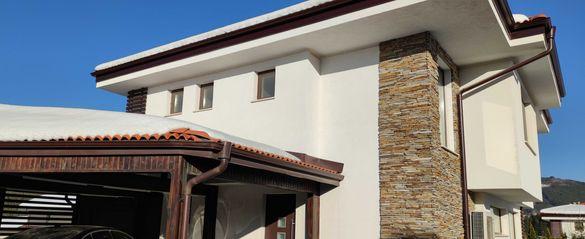 къща РЗП146м2, 2ет, двор 340м2, нова,к-с ДЕЛТА ХИЛ,с.Кладница, 236000Е