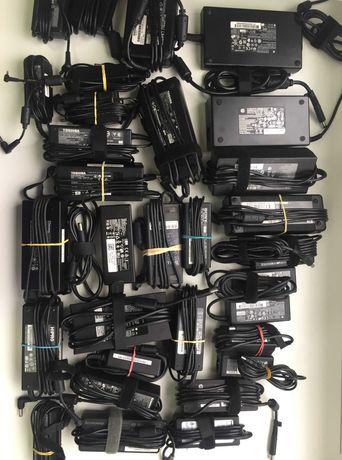 Лот Оригинални адаптери зарядни за лаптоп Apple/HP/DELL/Acer/Asus/Tosh