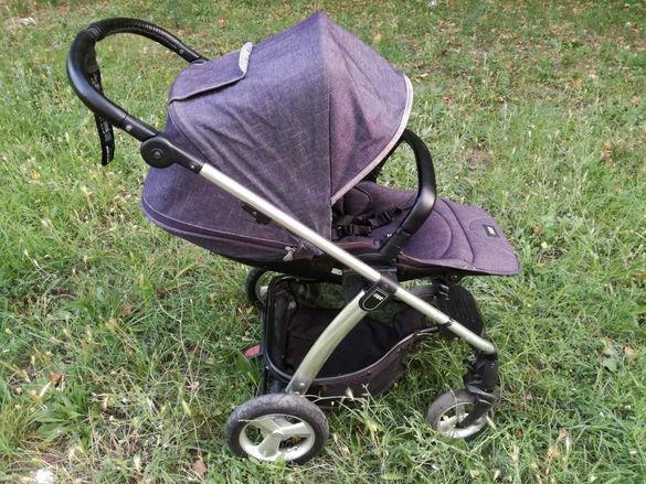 Бебешка количка Mamas & Papas Sola 2 Mtx Denim