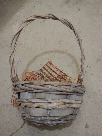 декоративна кошничка кашпа