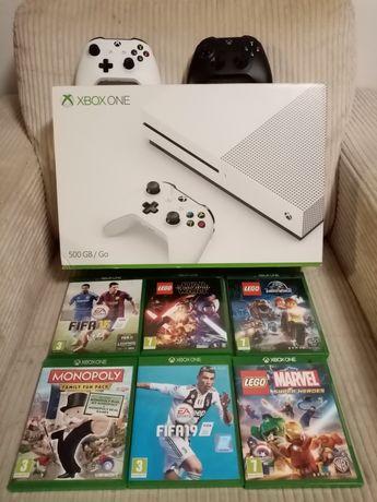 Xbox one 500 GB + 5 jocuri