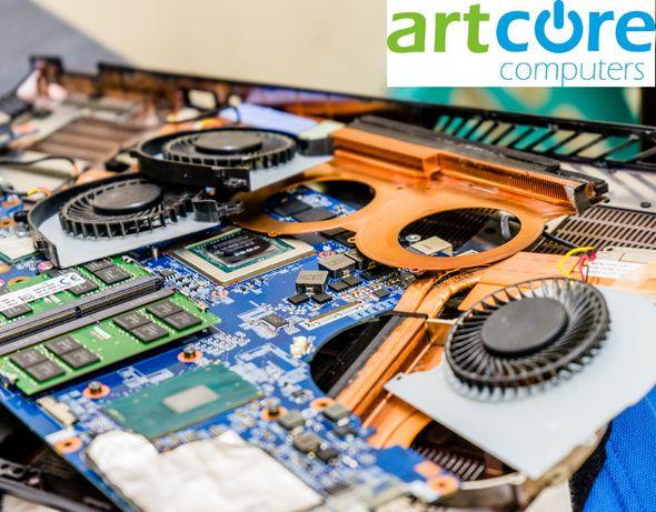 Service artcore: reparatii laptop, service calculatoare, curatare praf