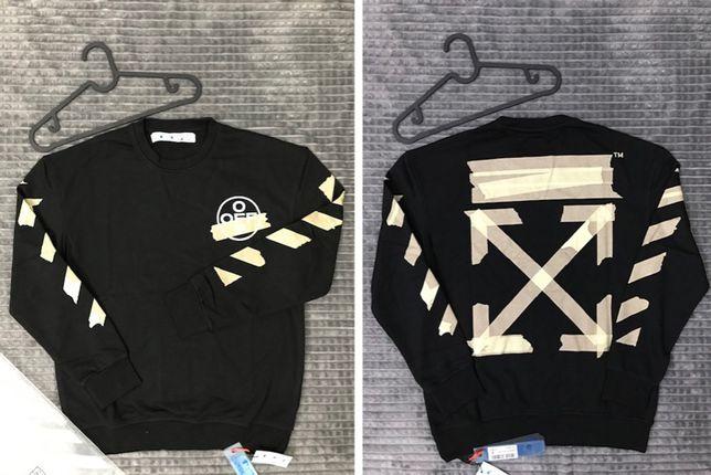 Bluza Off-White Tape Black - PREMIUM sweatshirt
