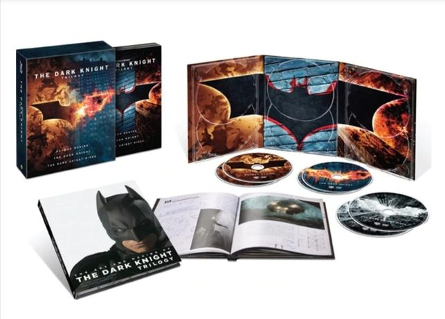 Batman The Dark Knight Trilogy DVD editie limitata