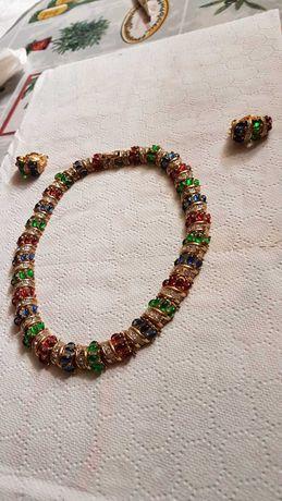 Set colier și cercei Nina Ricci