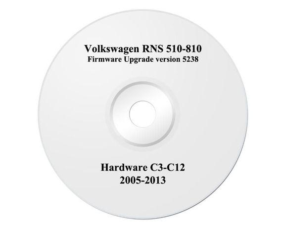 Софтуер за навигация на Фолксваген и Шкода VW RNS 510 Firmware Камери