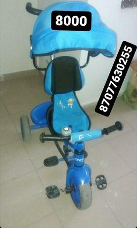 Трёх колёсный велосипед срочно купить Алматы