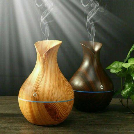 Арома дифузер ваза Овлажнител йонизатор и ароматизатор за въздух Лампа