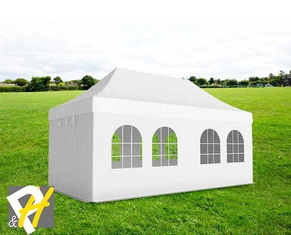 Професионална алуминиева шатра тип хармоника, 3х6 м - PVC 620гр/м2