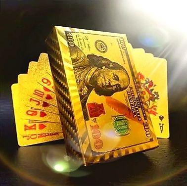 Златни и Сребърни Карти за игра