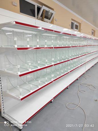 Мебель для магазинов полки стеллажи прилавки торговое оборудование