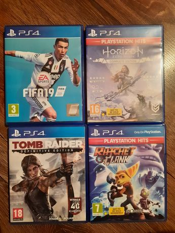 Tom Raider,  fifa 19,Horizon,  Ratcher