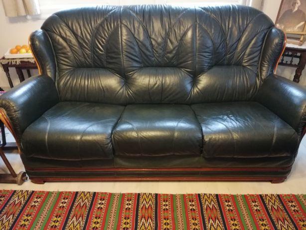 Set canapea și fotolii din piele