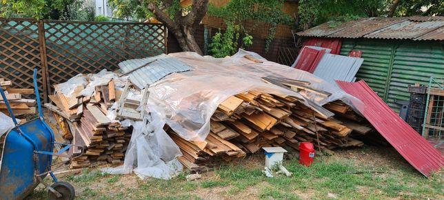 Vand lemn in diferite variante (patrati, dusumea, lambriu)