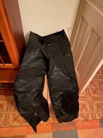 Pantaloni piele moto Teknic