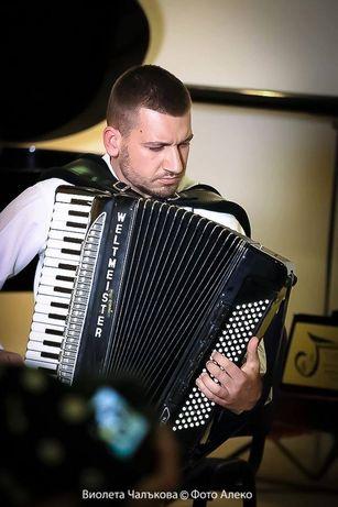 Уроци по акордеон, пиано, солфеж,