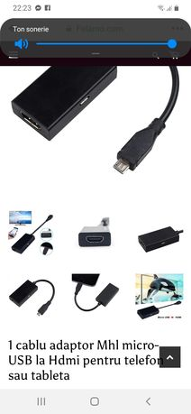 Adaptor HDMI-C pt internet pe TV-nou