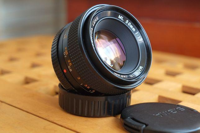 Yashica ML 50mm 1.7 montura C/Y