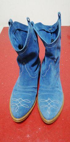Vand cizme albastru deschis
