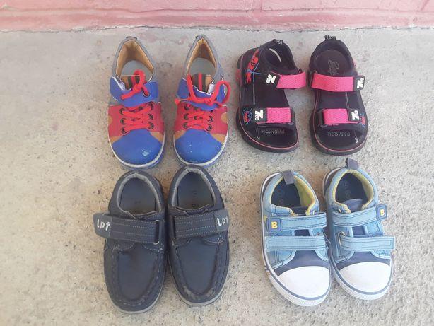 Детская  обувь  для  мальчика  .