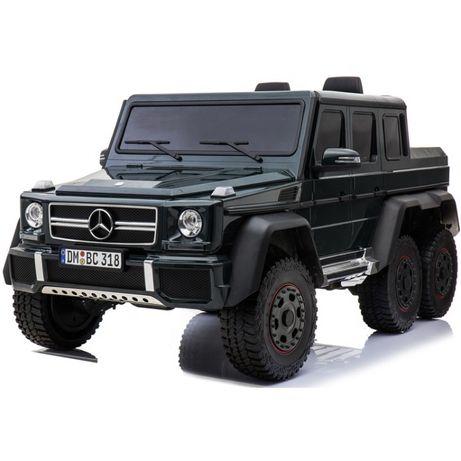 Masina electrica Mercedes G63 6x6 Premium cu 4 motoare #Negru