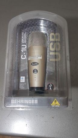 Продам USB микрофон Behringer C-1U
