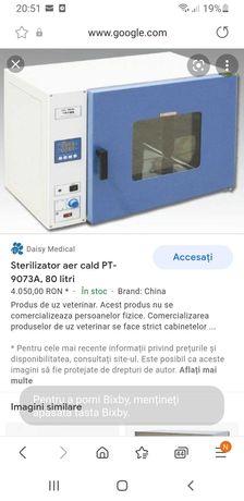 Sterilizator aer cald 80 litri