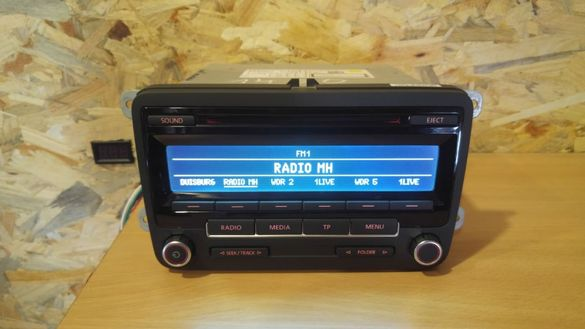 Радио VW CD RCD 200 RCD 210 RCD 300 RCD 310 mp3