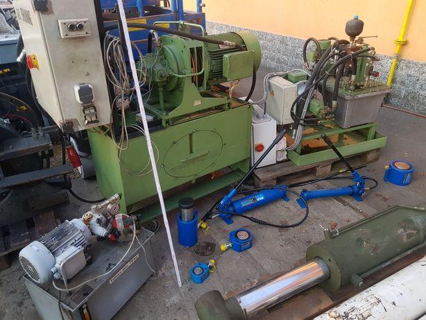 grup pompare hidraulic motor trifazic kw centralina distribuitoare