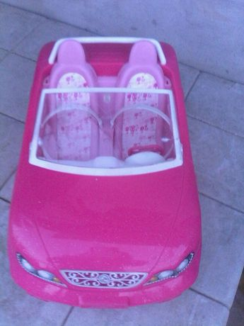 masinuta Barbie car, Mattel 2013/decapotabila/35 cm