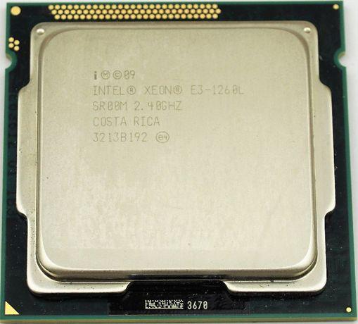 Процесор ЦПУ CPU xeon E3 - 1260L 3.30 GHz 1155 DDR3