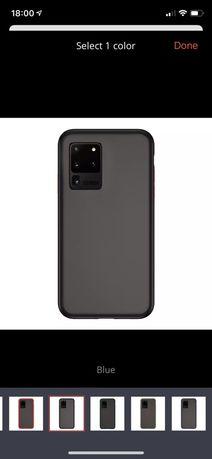 Husa Hybrid Silicon Spate Plastic Neagra - Samsung S20 Plus Ultra